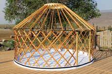 Yurt on Groundsheet