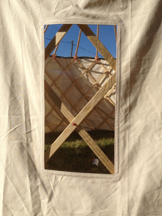 Rectabgular yurt window